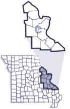 Troop C County Map